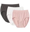 Bali Microfiber Solid Brief Panty