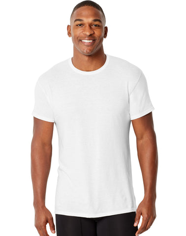 Hanes Mens Comfort Fit Crewneck Undershirt 4-Pack