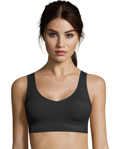 Hanes Womens Invisible Embrace Comfort Flex Fit Wirefree Bra