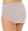 Bali Women`s One Smooth U Tummy Toning Cotton Brief 2-Pack