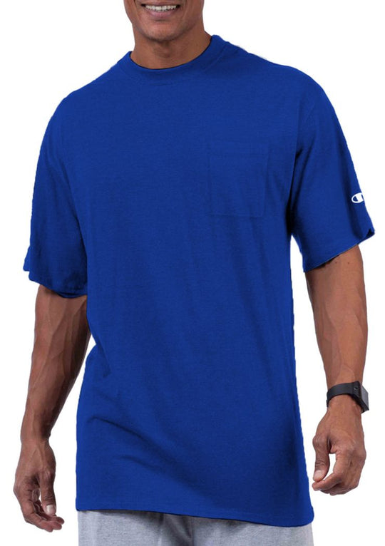Champion Big & Tall Men`s Short Sleeve Pocket Jersey Tee