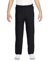 Gildan Youth Heavy Blend Sweatpants, XL, Black