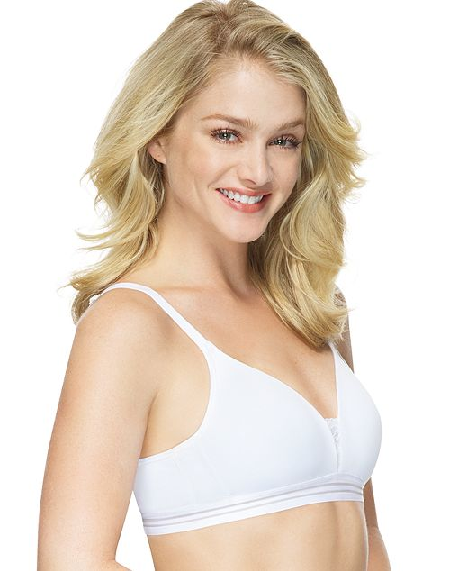 Hanes Womens T-Shirt Soft Foam Wirefree Bra