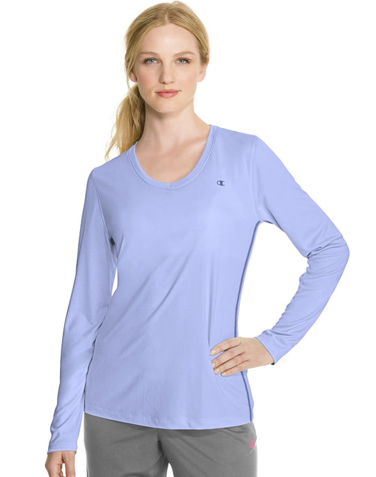Champion Vapor PowerTrain Long Sleeve Women's Tee