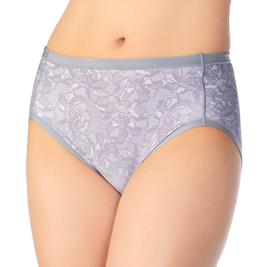 Vanity Fair Body Caress Women`s Hi Cut Panty