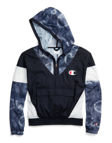 Champion Womens Nylon Warm Up Jacket