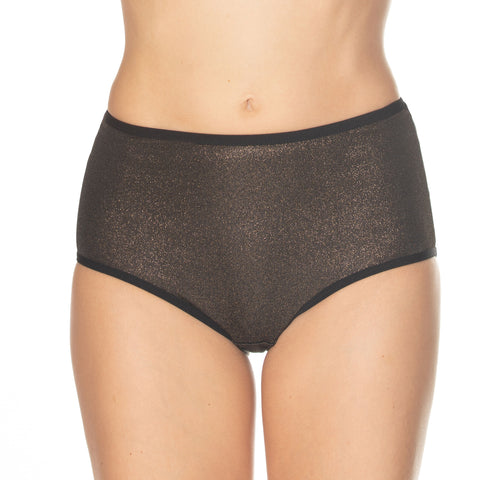 Gemsli Womens Shimmer Brief 3-Pack