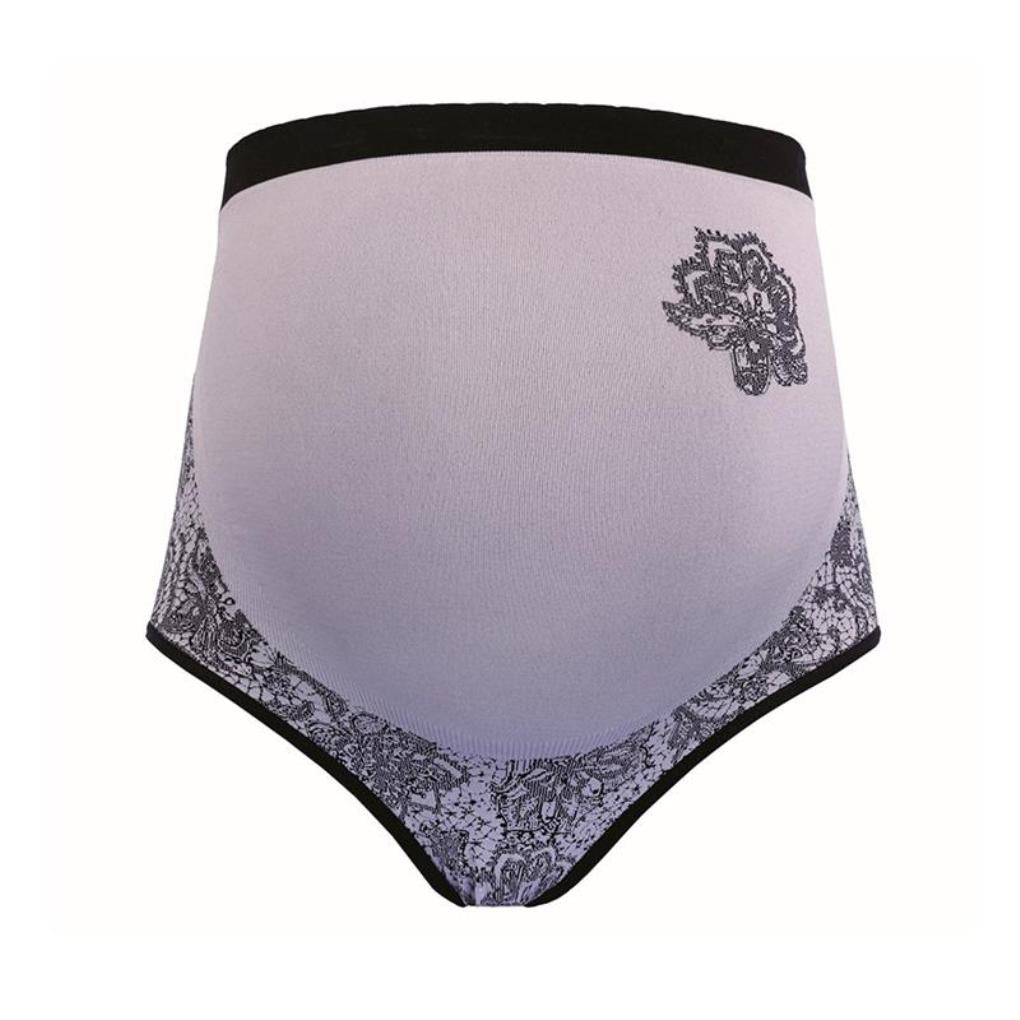 Cache Coeur Womens Illusion Lace Maternity Over Belly Brief