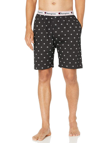 Champion Mens Jersey Printed Sleep Shorts
