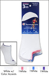 Champion Double Dry Performance No-Show Women's Socks 3-Pack