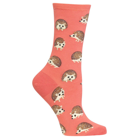 Hot Sox Womens Hedgehog Socks