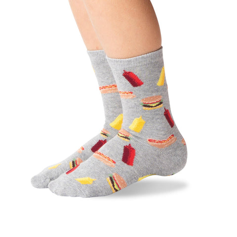 Hot Sox Kids BBQ Crew Socks