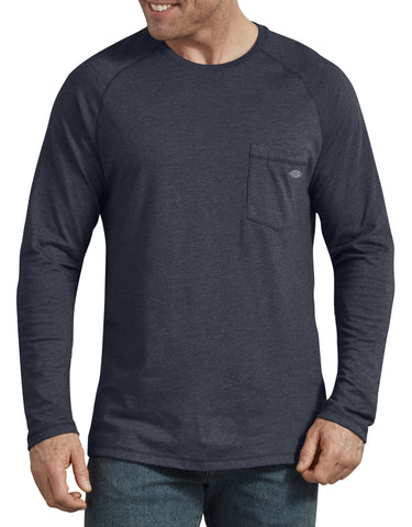 Dickies Mens Temp-iQ Performance Cooling Long Sleeve T-Shirt
