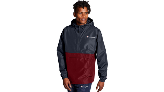 Champion Mens Colorblocked Packable Jacket