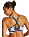 Champion Womens The Infinity Stripe Sports Bra