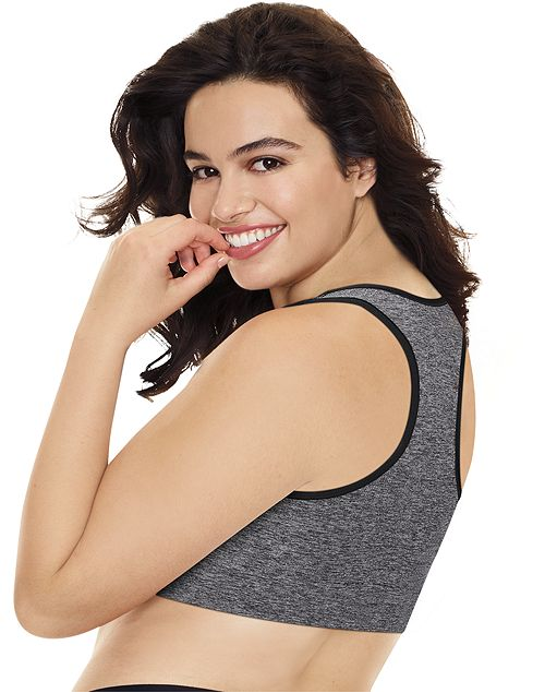 Just My Size Womens Pure Comfort Racerback Bra