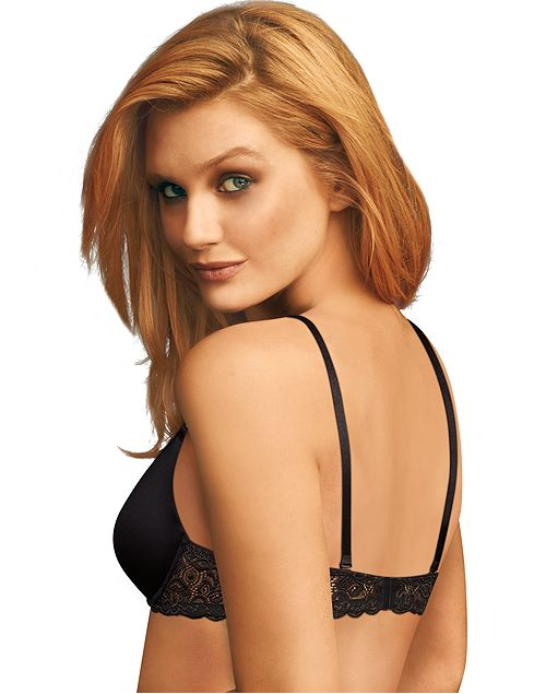 Maidenform Womens One Fab Fit Push Up Bra 2-Pack