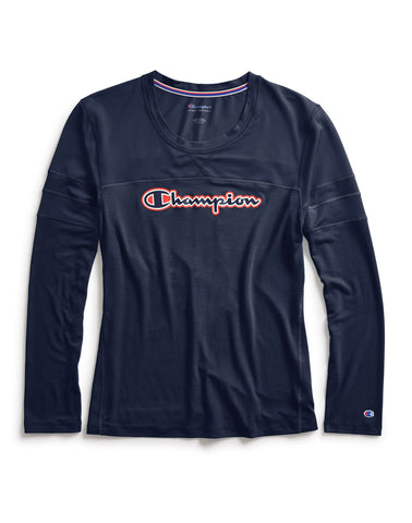 Champion Womens Long-Sleeve Tee