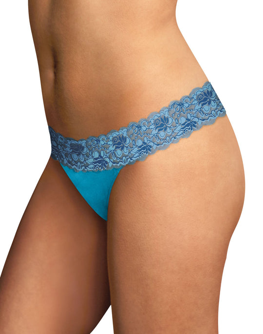 Maidenform Women`s Dream Thong with Lace