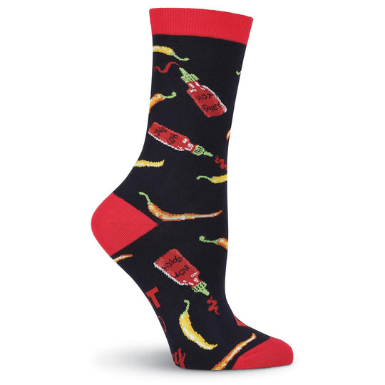 K. Bell Womens Hot and Spicy Crew Socks