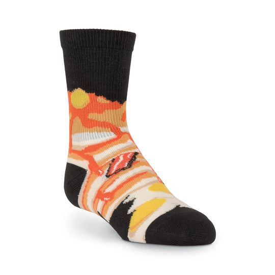 K. Bell Kids Breakfast Crew Socks
