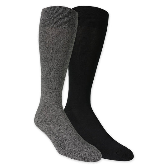 Dr. Scholls Mens American Lifestyle Collection Dress Casual Crew Socks 2 Pair