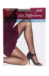 Hanes Silk Reflections Tulle Net Sheer To Waist Pantyhose 1 Pair Pack