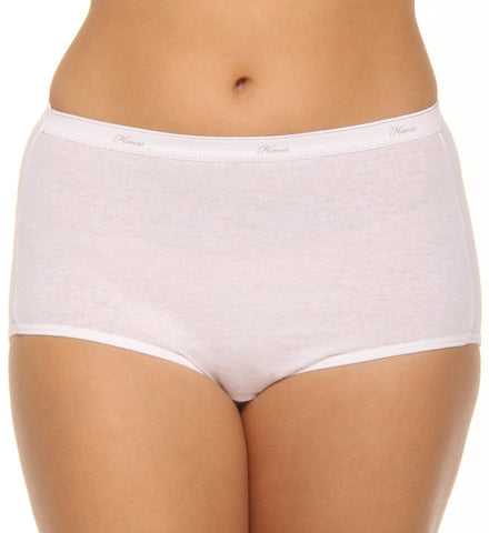 Hanes Women's Cotton Briefs 3 Pack