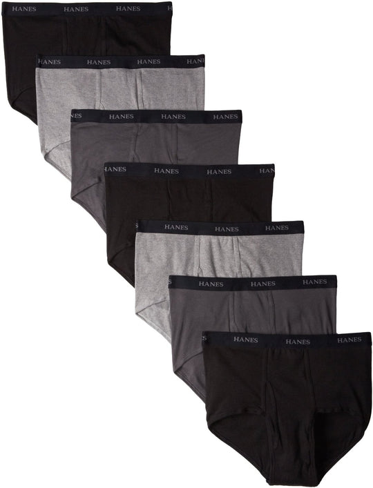 Hanes Classics Men's TAGLESS No Ride Up Briefs with Comfort Flex Waistband 7-Pack