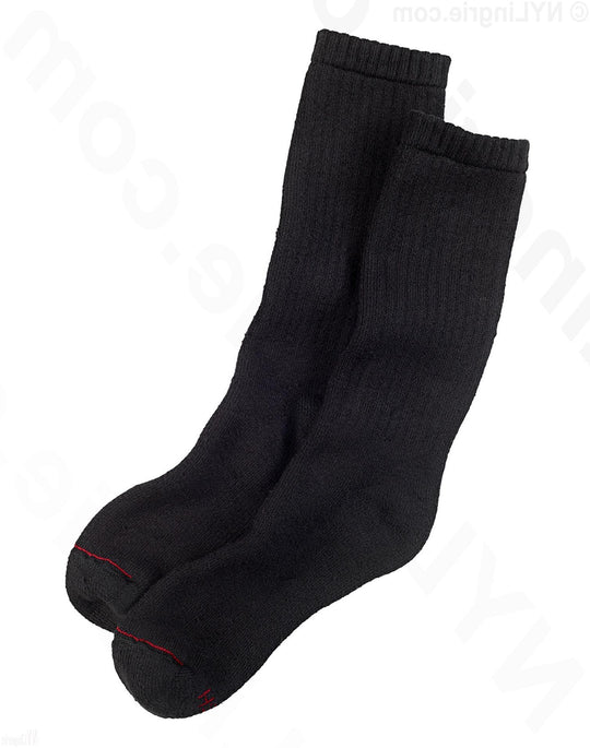 Hanes Men's Work in Comfort Crew Socks 3-Pack