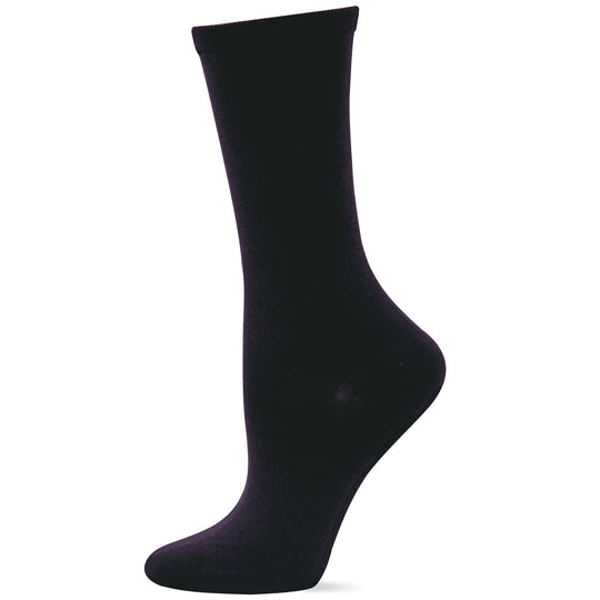 Hot Sox Womens Classic Solid Trouser Sock