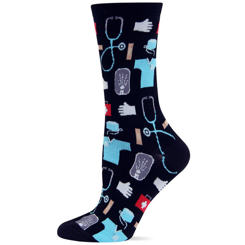 Hot Sox Womens Originals Medical Crew Sock