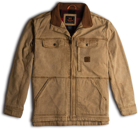 Walls Mens Vintage Lined Jacket with Stretch