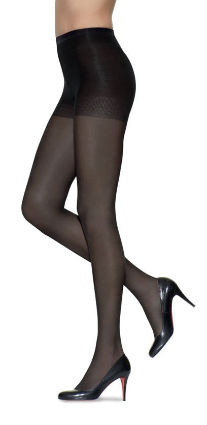 L'eggs Silken Mist Ultra Sheer with Run Resist Technology, Control Top Sheer Toe Pantyhose 1 Pair