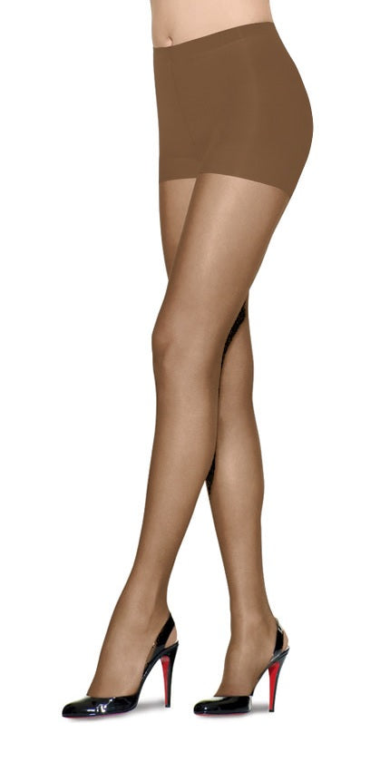L'eggs Sheer Energy Control Top, Reinforced Toe Pantyhose 2 Pack