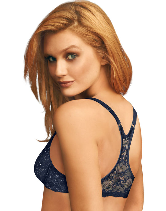 Maidenform Women`s Pure Genius T-Back Bra with Lace Underwire Bra