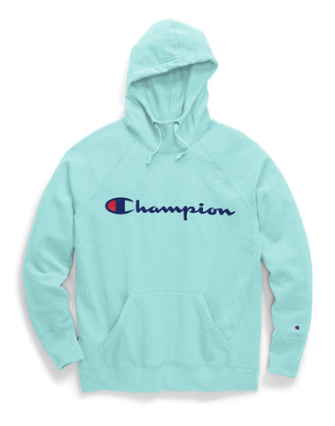 Champion Womens Plus Powerblend Fleece Hoodie