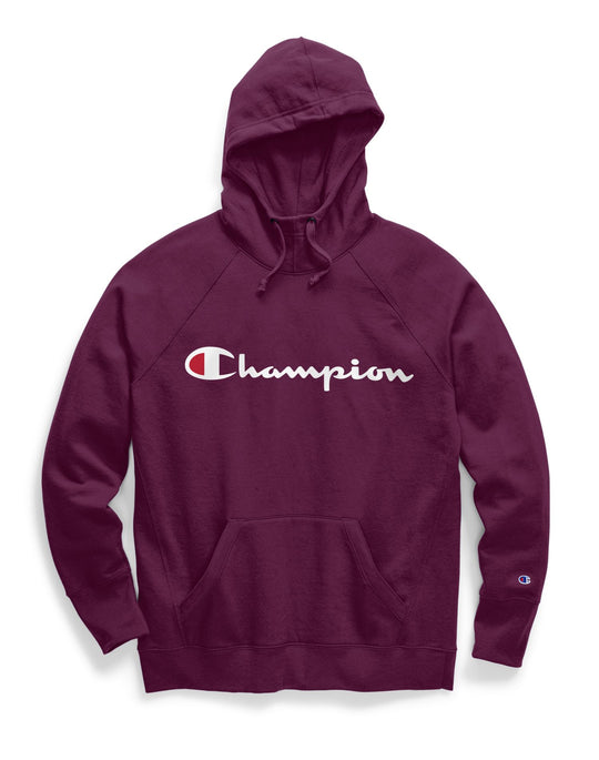 Champion Womens Powerblend Fleece Pullover Hoodie