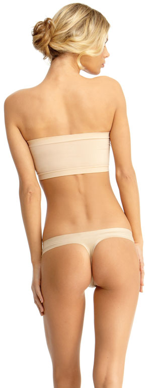 SlimMe By MeMoi womens Basic Control Bandeau Shaper