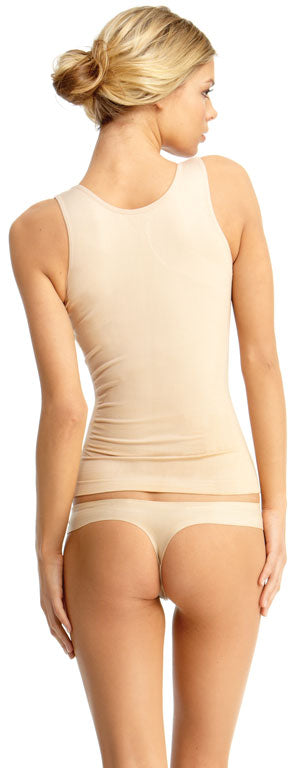 SlimMe By MeMoi womens Basic Control Shaping Tank