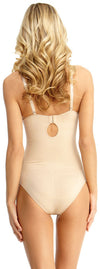 SlimMe By MeMoi Underwire and Padded Bodysuit with Brief