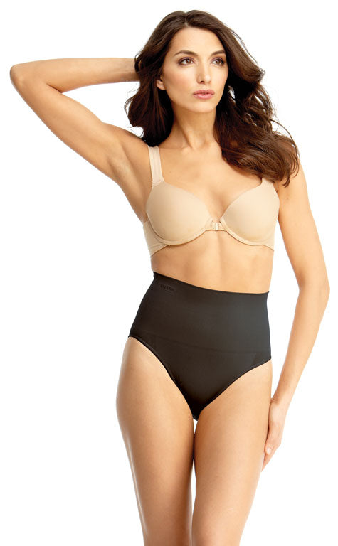 SlimMe By MeMoi womens High Waisted Control Brief