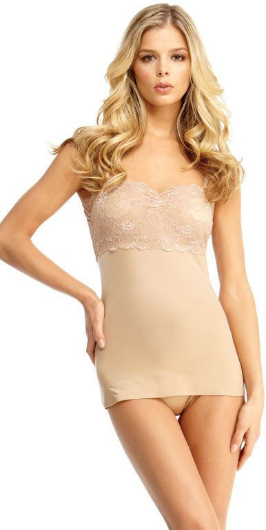 SlimLuxe By MeMoi womens Shaper Lace Cami