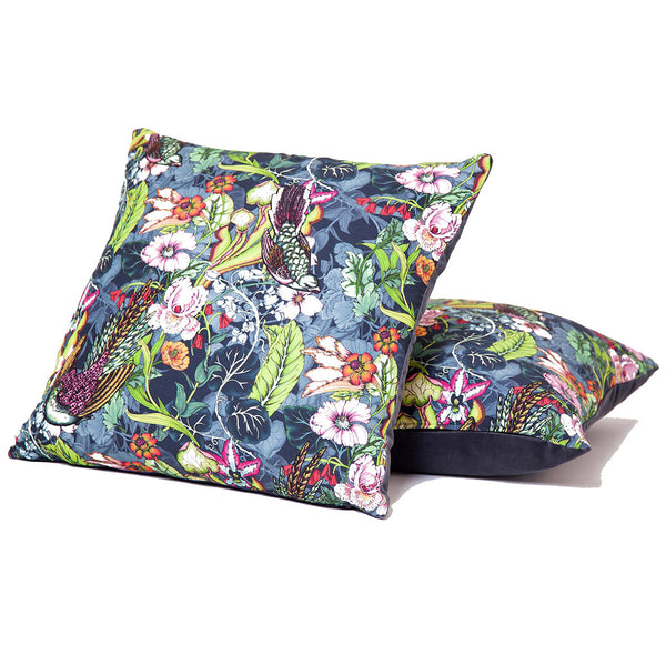 Falling Birds - A cushion design for Higgs & Crick