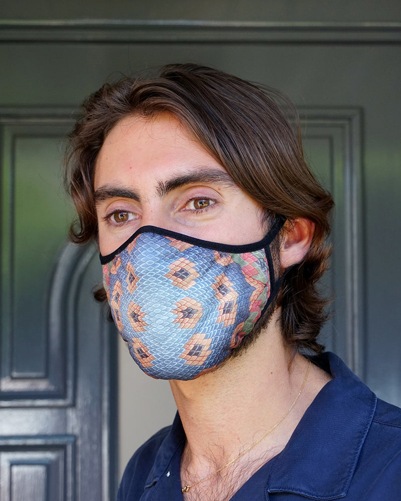 Snakeskin Face Mask