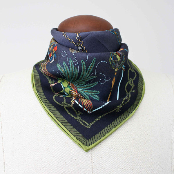 Barnes the Elephant Heirloom Pocket Square