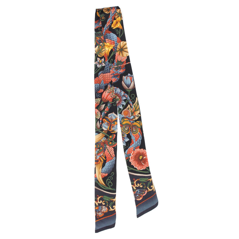 Tropical Iridescence Dark Skinny Twilly