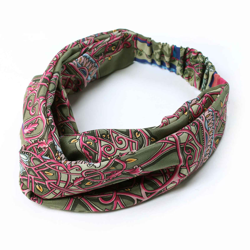 Percy's Lost City Silk Headband