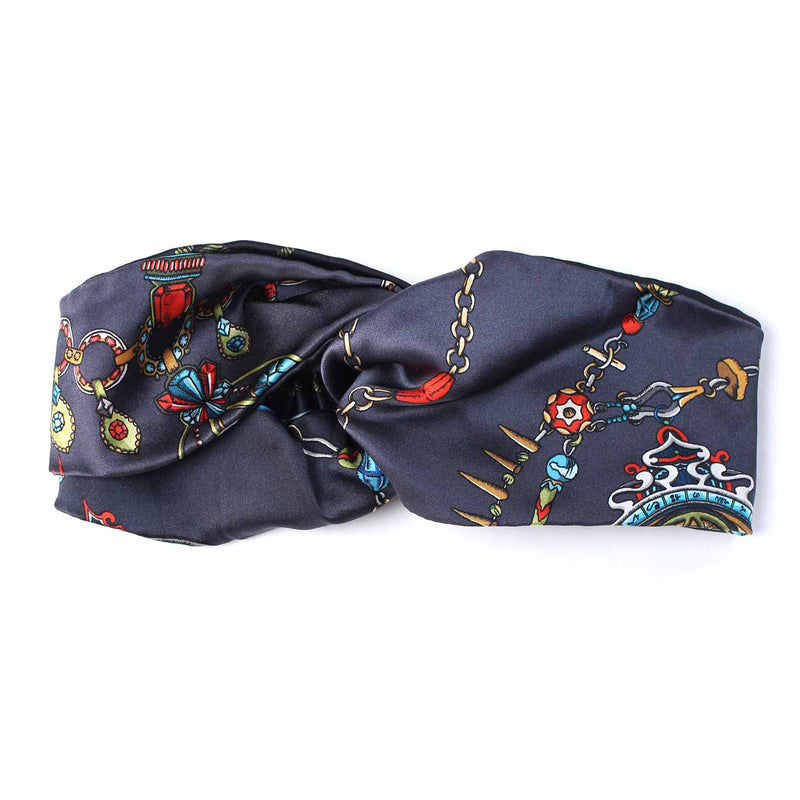 Barnes The Elephant Heirloom Silk Headband