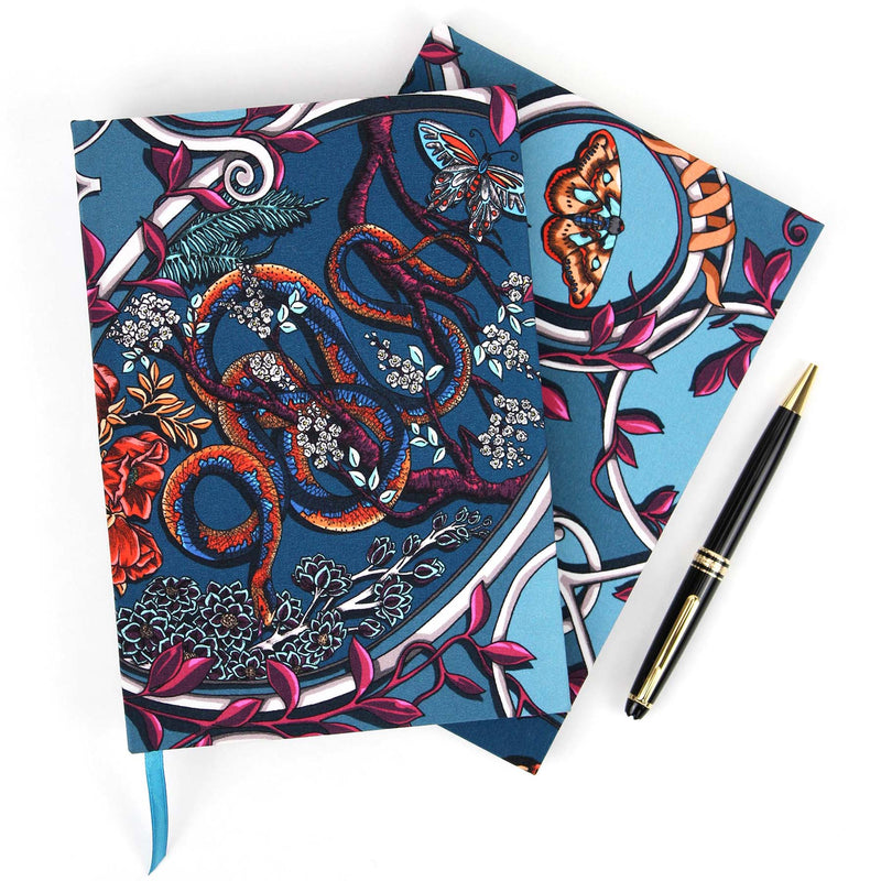 Japanese Cameo Turquoise Notebook